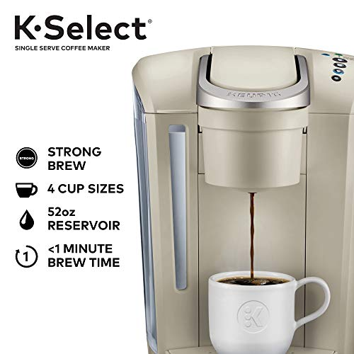 Keurig K-Select Single-Serve K-Cup Pod Coffee Maker, Sandstone by Keurig (Image #1)