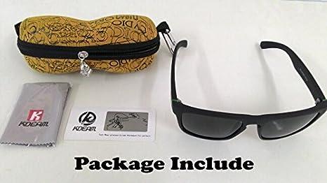 KDEAM Polarized Sunglasses Men Sport Eyewear