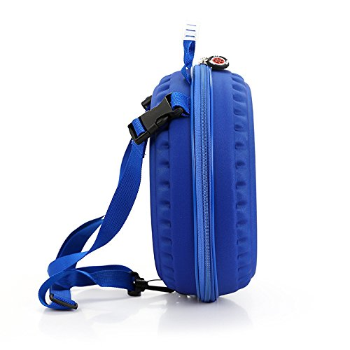 Zarapack - Bolso mochila  para mujer blanco blanco S azul