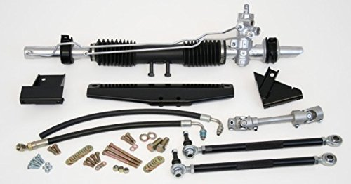 (SpeedDirect 84513 Steeroids Rack & Pinion Conversion Kit for Ford Mustang Power Steering)