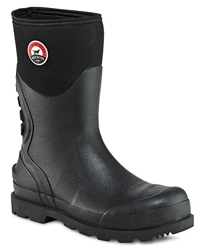 Steel Toe Rain Boots (Irish Setter Men's 89000 12