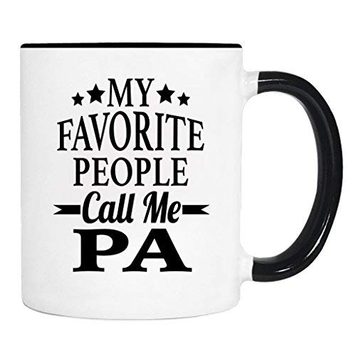(My Favorite People Call Me Pa Coffee Mug Pa Gift Pa Mug Gifts For Pa)