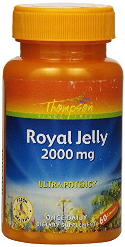 Thompson Royal Jelly  Ultra Potency  2000 Mg  60  Capsules