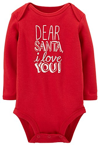 Carters Unisex Baby Christmas Bodysuit