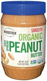 product image for Organic Smooth Peanut Butter 35 Ounces (Case of 12)