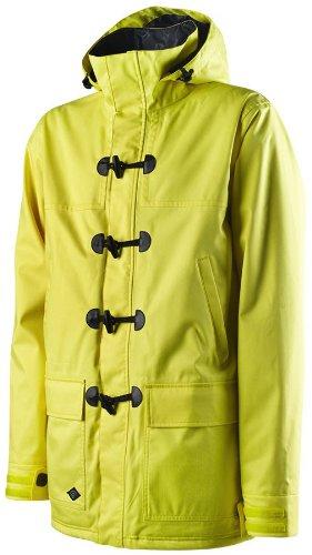 Special Blend Crank Ski Snowboard Jacket Hello Yellow Sz L
