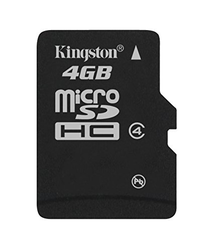 2221 opinioni per Kingston SDC4/4GB Memoria MicroSDHC senza Adattatore SD, 4 GB, Class 4