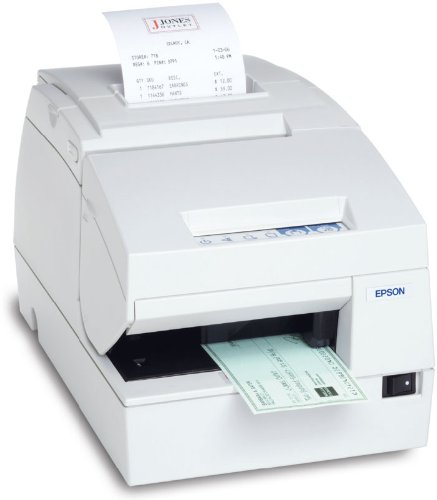 EPSON - TM-H6000III - HYBRID THERMAL RECEIPT & DOT MATRIX PRINTER - SERIAL - EPSON DARK GRAY - MICR AND DROP IN VALIDATION - REQUIRES: POWER SUPPLY & CABLE [c31c625a8751] (H6000iii Receipt Printer)