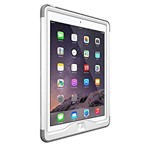 LifeProof NÜÜD SERIES iPad Air 2 Waterproof Case - Retail Packaging - AVALANCHE (WHITE/CLEAR)
