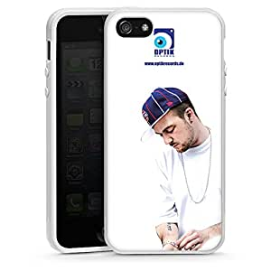 Apple iPhone 5 Case Shell Cover Silicone Case white - Optik Records