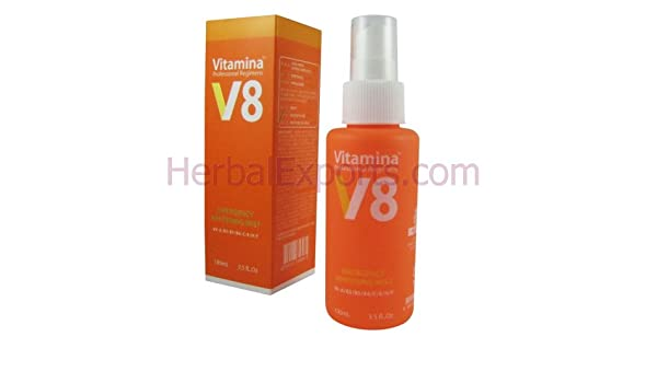 Amazon.com : NUTREE V8 Vitamina Emergency Whitening Mist BRAND NEW : Body Gels And Creams : Beauty
