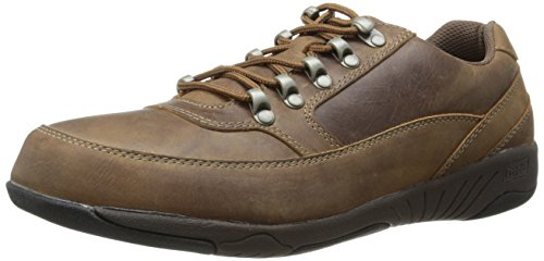 Propet Mens Miller Work Shoe Brown