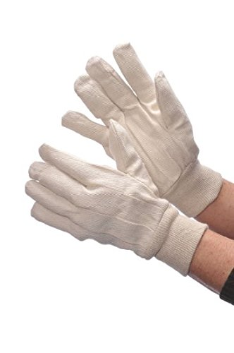 Tuff Grip 8oz Cotton Canvas Gloves Size:Large (12 - Canvas 8 Ounce Glove