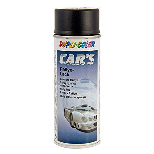 Duplicolor 385872 Spray CAR'S, Noir Mat, 400 ml