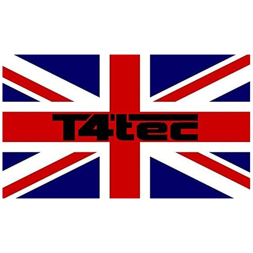 T4tec -BRITISH designed 32 inch LED TV, HD Ready, Freeview HD, Black (Energy Class A)