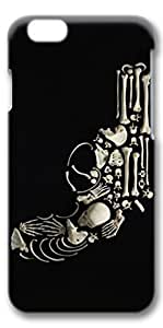 iPhone 6 Case, Protective Case[Scratch Resistant][Perfect Fit] Hard 3D Cover for 4.7 inches iPhone 6 - Skull Gun