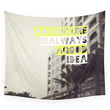 Society6 Adventure Wall Tapestry Large: 88  x 104