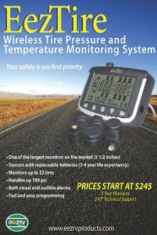 EEZTire Tire Pressure Monitoring System - 10 Flow-Through Sensors (TPMS) - FREE U.S. SHIPPING AT CHECK OUT by EEZTire by EEZ RV PRODUCTS (Image #5)