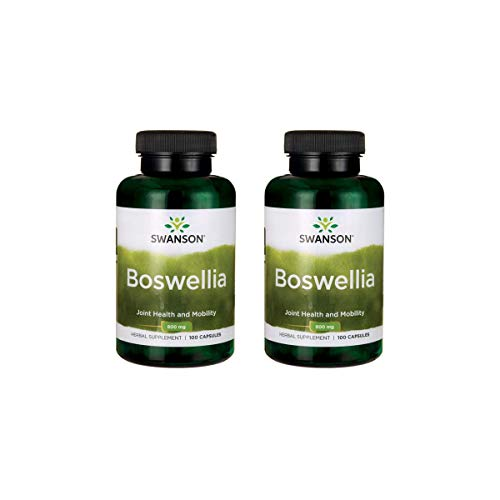 - Swanson Boswellia 400 mg 100 Caps 2 Pack