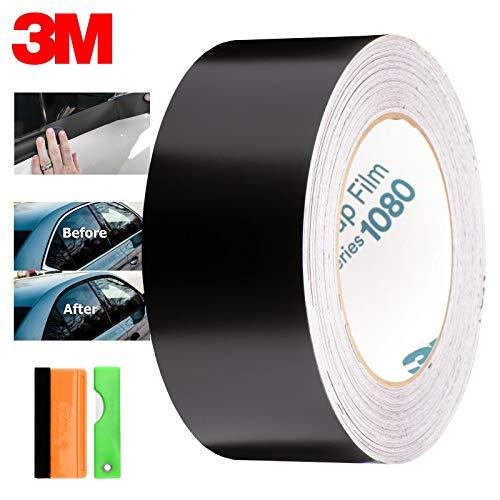 Ezautowrap Free Tool Kit 3m 1080 2080 Satin Black Vinyl Wrap Kit For Black Out Chrome Delete Window Trim Door Trim 2 X25ft