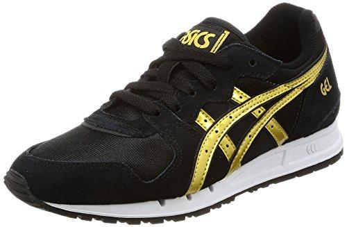 Gel De Running Femme movimentum Schwarz Gold Noir Chaussures Asics Gold schwarz THxAROqOaw