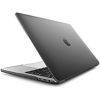 """MacBook Pro 15 Case 2016 & 2017, i-Blason Smooth Matte Frosted Hard Shell Cover for Apple MacBook Pro 15"""" inch A1707 with Retina Display 2016&2017 Release fits Touch Bar & Touch ID Ver. (Frost Black)"""