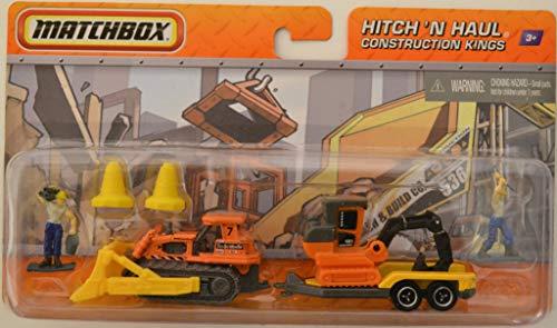 MBX Hitch 'N Haul Construction Kings Matchbox 1:64 Scale Die Cast Car