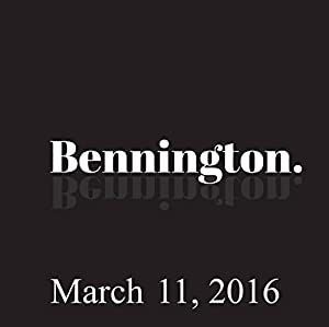 Bennington, Eddie Pepitone and Louie Anderson, March 11, 2016 Radio/TV Program