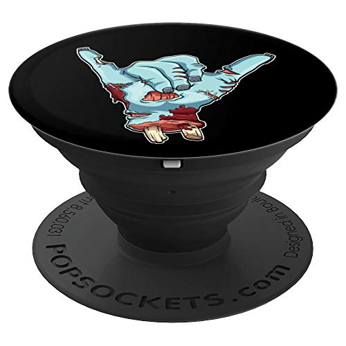 Surfer Shaka Sign - Halloween Hang Loose Bro Funny - PopSockets Grip and Stand for Phones and Tablets -