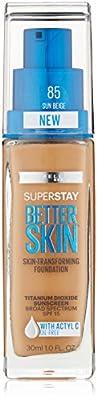 Maybelline New York Superstay Better Skin Foundation, 1 Fluid Ounce