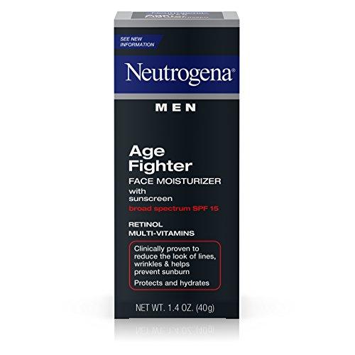 Neutrogena Men Age Fighter Face Moisturizer With Sunscreen Broad Spectrum Spf 15, (Fighter Face Moisturizer)