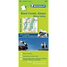 Black Forest, Alsace, Rhine Valley Zoom Map 131