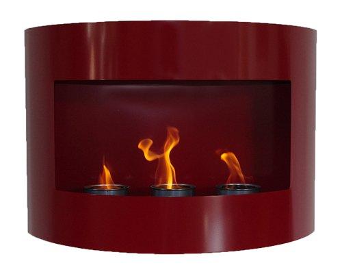 Design Fireplace RIVIERA Deluxe Black Bio Ethanol Gel Fire Place Deka Interieurbouw