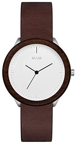 Mam originals light teak cooper 064 Mens japanese-quartz watch