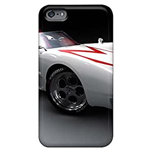iphone 6plus 6p New mobile phone carrying skins stylish cases speed racer mach 5 car