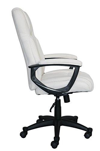 Serta Style Hannah II Office Chair, Microfiber, Ivory by Serta (Image #4)
