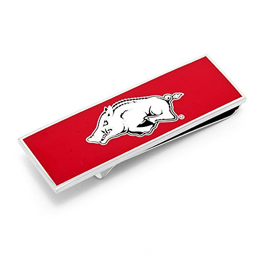 NCAA Mens Arkansas Razorbacks 3-Piece Gift Set by Cufflinks