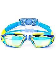Kinderen Galvaniseren Anti Mist Zwemmen Goggles Waterdichte Siliconen Zwemmen Glazen Verstelbare Sweem Eyewear Voor Jongens Meisjes
