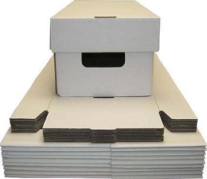 (10) DVD Cardboard Storage Boxes   Holds 30   BCW Brand