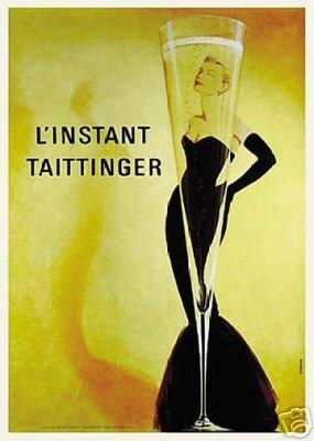 L'Instant Taittinger (Champagne Ad) Art Print ()