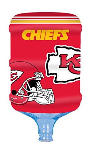 NFL Bottle Skinz 5 Gallon Water Cooler Cover, Kansas City Chiefs