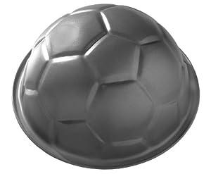Birkmann 212220 Backform Fußball, antihaft, 22.5 x 11.5 cm, ca. 2500 ml, groß
