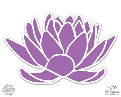 Amazon purple lotus flower yoga peace zen vinyl sticker purple lotus flower yoga peace zen 3quot vinyl sticker for car laptop i mightylinksfo