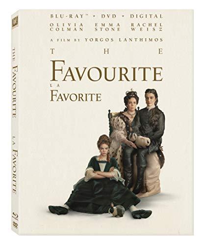 The Favourite [Blu-ray + DVD + Digital Copy] (Bilingual)