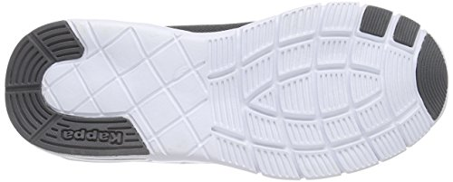 1310 Footwear Synthetic Anthra Melo Unisex Grau da Kappa Ginnastica Adulto White Scarpe Mesh Unisex ZwPq4n1T