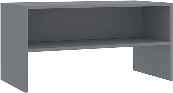 Sonoma Oak Unfade Memory TV Cabinet Entertainment Stand Console Chipboard Media Centre 47.2x13.4x11.8