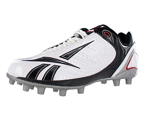 Reebok Bulldodge Low M2 Ii Lc Football Men's Shoes Size 9 White/Black/Red