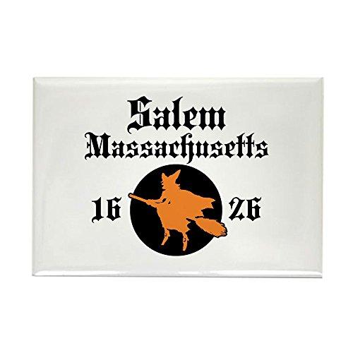 (CafePress Salem Massachusetts Rectangle Magnet, 2