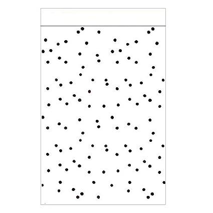 10 bolsas de papel grandes con lunares negros A4 bolsas de ...