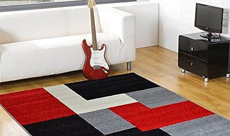 Tappeti Colorati Per Salotto : Webtappeti.it tappeto a quadri colorato tappeto salotto flirt 2465